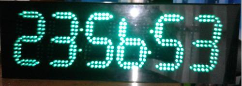 alquiler y venta cronómetro led, reloj led, tanteadores dep