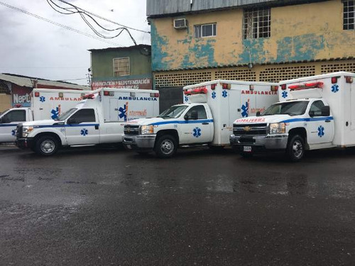 alquiler y venta de ambulancias. traslados a nivel nacional