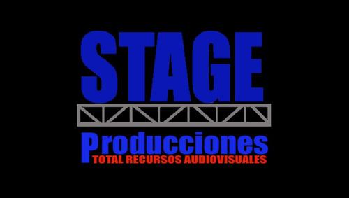 alquiler y venta de plantas eléctricas. stage producciones