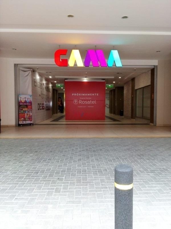alquiler y venta de stands,centro comercial *gama *(gamarra)
