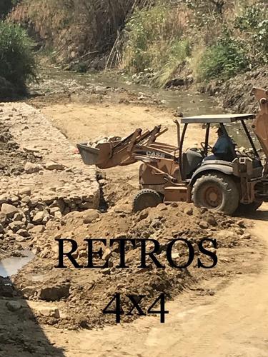 alquiler y venta maquinaria retros, excavadoras compresor