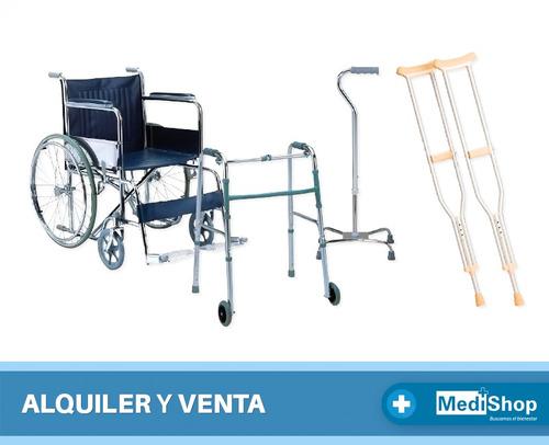 alquiler y venta sillas de ruedas andadores bastones muletas