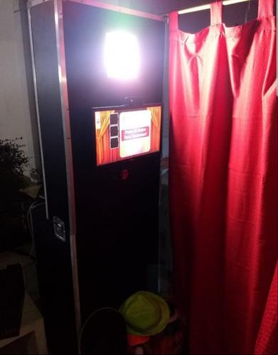 alquiler y ventas de cabinas fotograficas y shows robot led