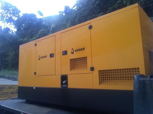 alquiler y ventas de plantas eléctricas 90 kva  en adelante