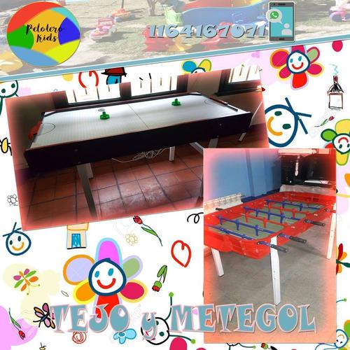 alquileres plaza blanda-inflables-metegoles-tejo-mini living