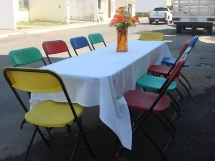 alquileres victoria: renta inflable, mesas, sillas...