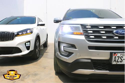 alquiler/renta de vehículos 2018, 2019 y 2020! suv de lujo!