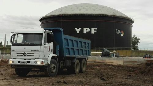 alquiler/servicio camiones volcadores  6x4 delkron srl