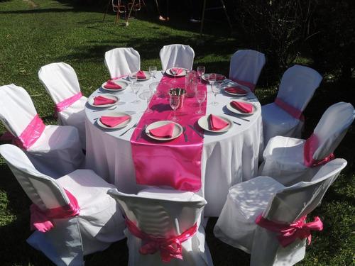 alquiler:sillas,mesas,manteleria,vajilla, hornos,decoracion.