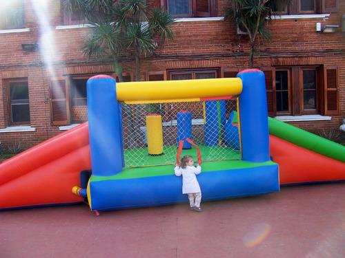 alquilo - algodon dulce - cama elastica - castillo inflable