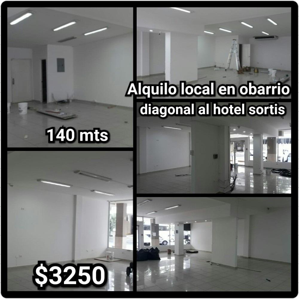 alquilo amplio y bien ubicado local comercial en obarrio-cr
