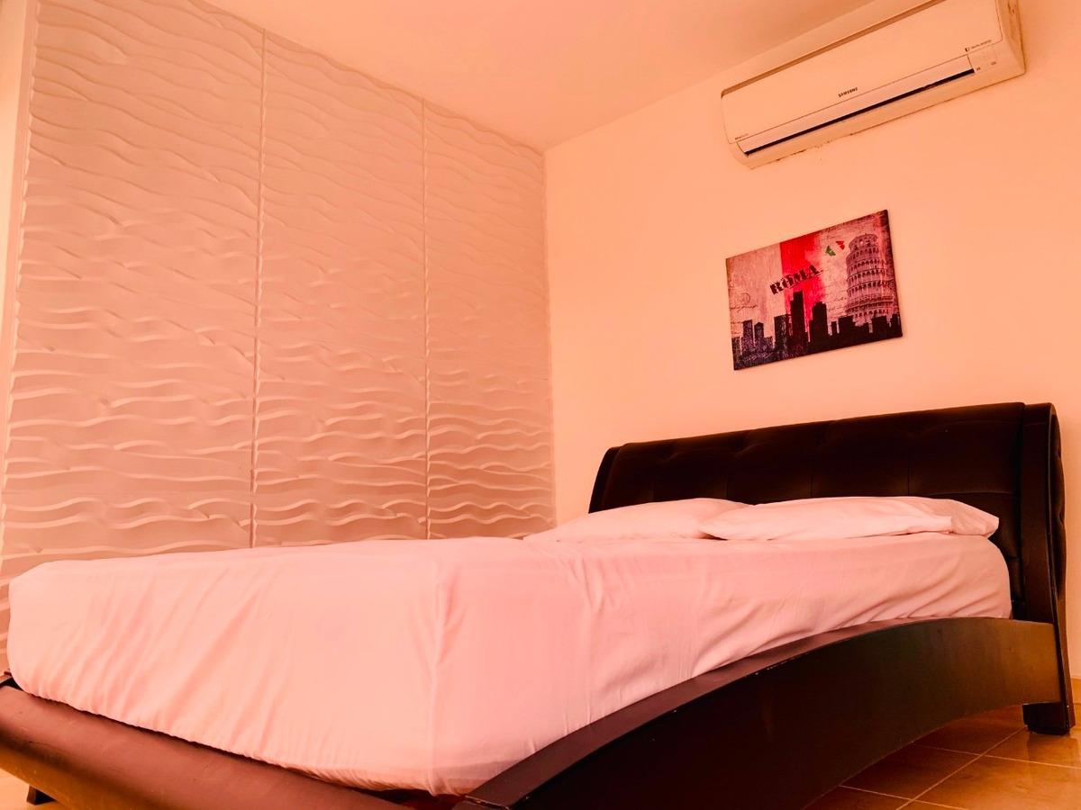 alquilo apartamento amoblado en sky blue tower jg2011233