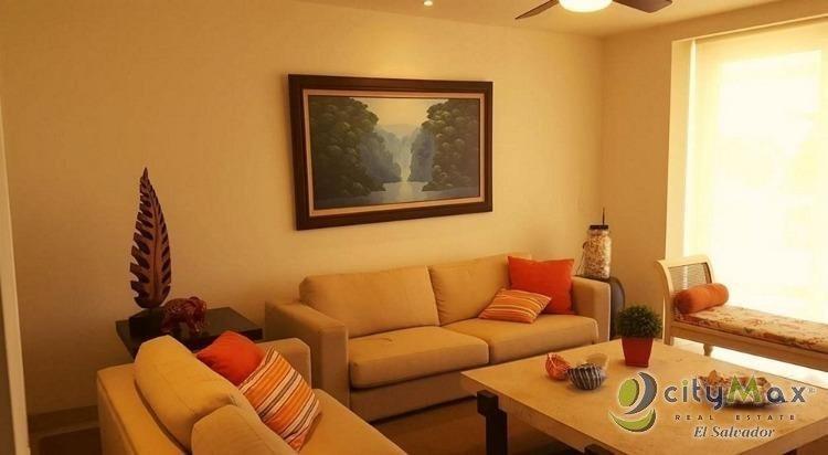 alquilo apartamento de playa en condominio costa real  - paa-001-05-15-13