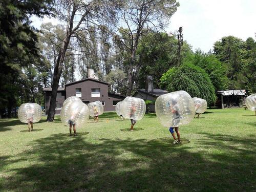 alquilo burbujas- bumper ball- bubble soccer crazy futbol