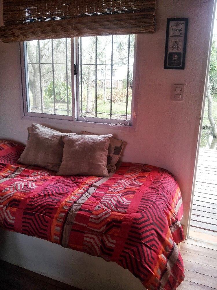 alquilo cabaña casa delta del tigre - arroyo antequera