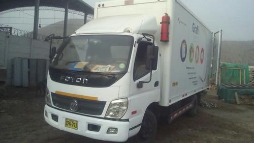 alquilo camion furgon de 20 mt. cubicos de  5tn. para carga