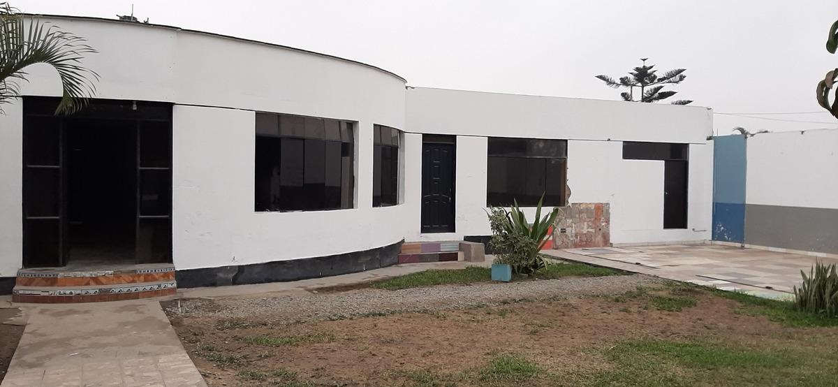 alquilo casa 2.550 mts. en calle principal de huachipa,lima