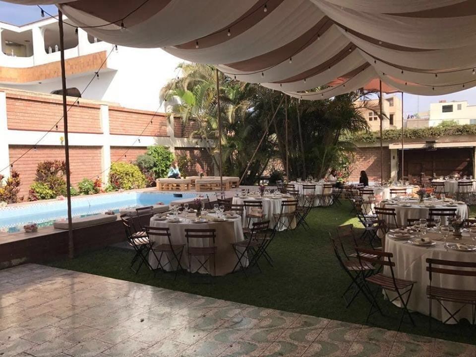alquilo casa con piscina en san borja para eventos