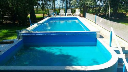 alquilo casa con piscina; laguna de lobos. mi lugar