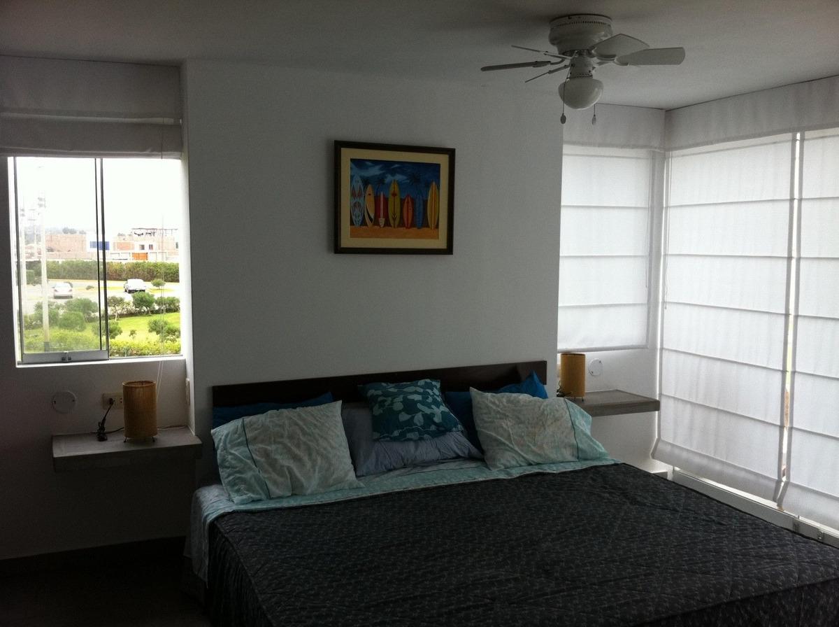 alquilo casa de playa en condominio moravia 2 bujama (5 min)