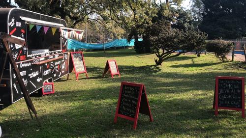 alquilo casa quinta pilar + servicio de food truck gastronom