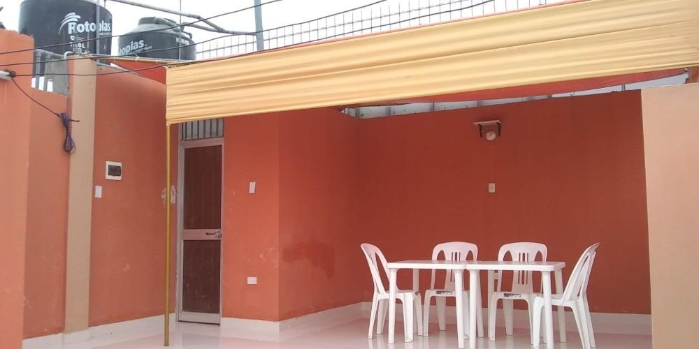 alquilo departamento 2do piso (2dor/1baño)  ovalo huandoy