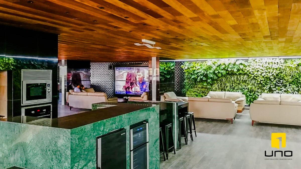 alquilo departamento moderno en edificio madero residence