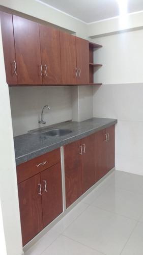 alquilo departamento sala/comedor/cocina/lavandería/baño/3d