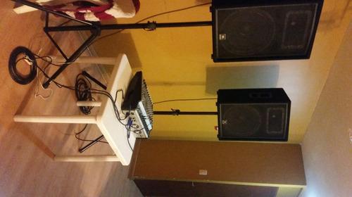 alquilo equipo de sonido