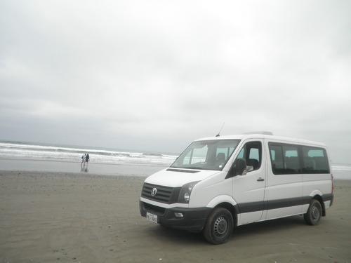 alquilo furgoneta crafter y buseta bus recorridos turismo
