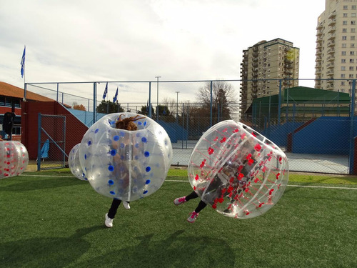 alquilo fútbol burbuja. cumple, fiestas. eventos.