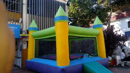 alquilo inflable + animador