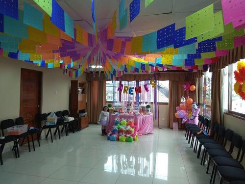 alquilo local p/ baby shower, fiestas infantiles -miraflores