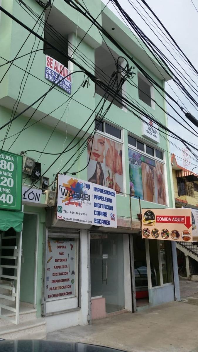 alquilo locales comerciales en alma rosa 1era 3er nivel