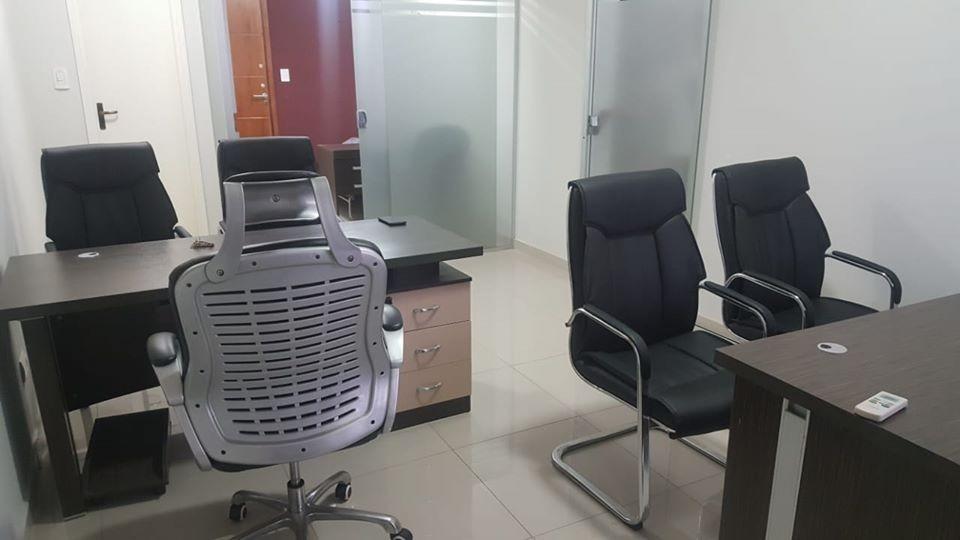 alquilo oficina amoblada en el centro de asuncion cod 2753