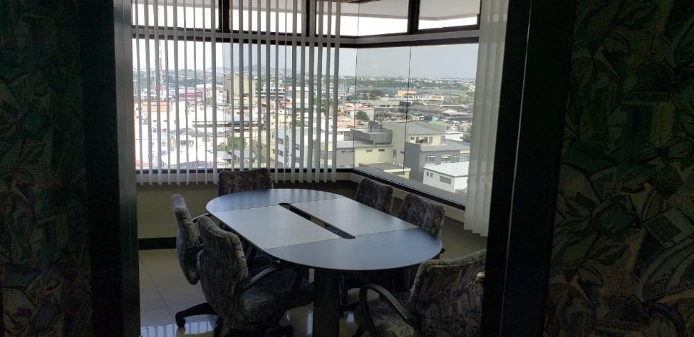alquilo oficina amoblada en torres norte