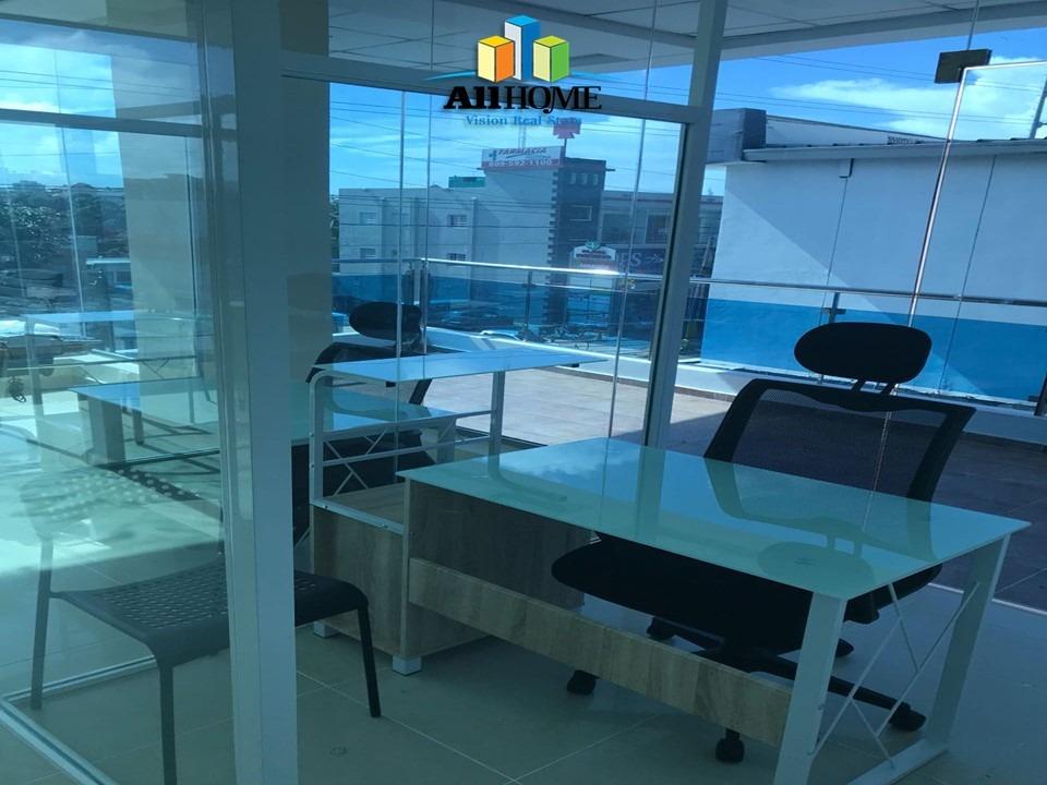 alquilo oficinas en av venezuela con servicios incluidos