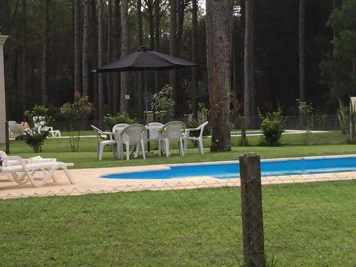 alquilo  pinamar norte piscina