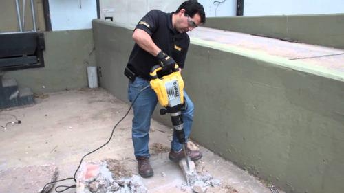 alquilo roto-martillo + rompe-pavimento dewall  por día