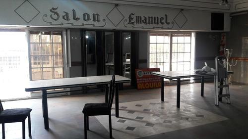 alquilo salon uso comercial g. catan, frente estación indepe