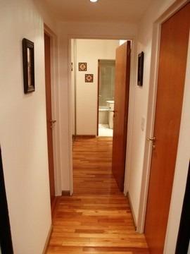 alquilo temporario en belgrano, 3 ambientes con balcón 4 pax
