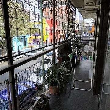 alquilo temporario en flores, 3 ambientes con balcón, 5 pax