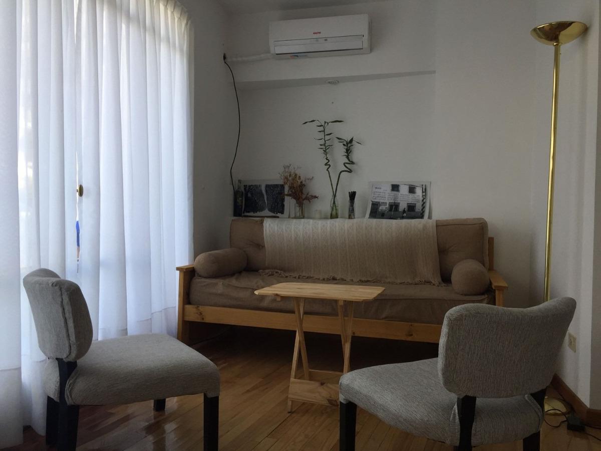 alquilo temporario en palermo, 2 ambientes balcón, 2 pax