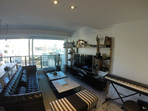alquilo temporario en palermo. 3 ambientes con terraza.