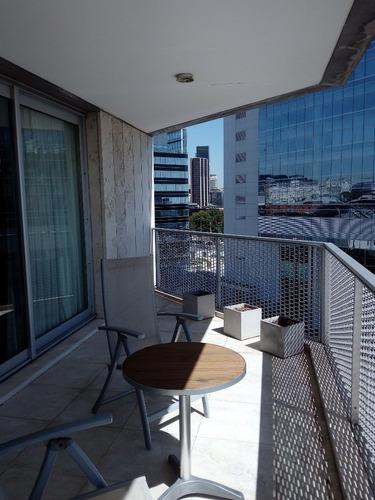 alquilo temporario en puerto madero. 3 ambientes. amenities.