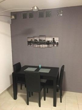 alquilo temporario en villa crespo. balcón. amenities, 3 pax