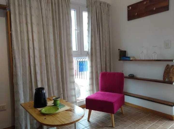 alquilo temporario villa urquiza, 1 ambientes terraza 1 pax