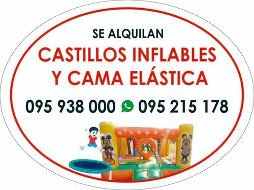 alqulio castillos y camas elasticas en maldonado