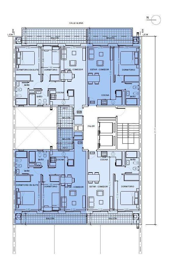 alsina 772-departamento 2 dormitorios-luis agote-calidad ms