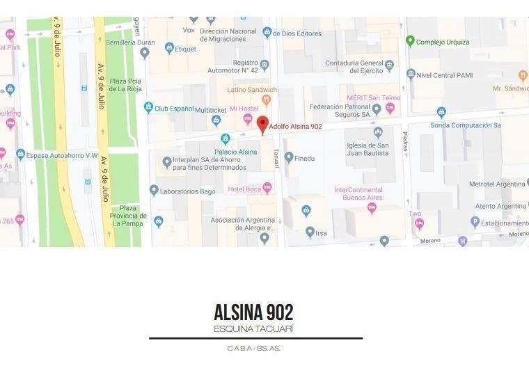 alsina 902 - caba - buenos aires